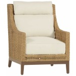 Peninsula Lounge Chair - Raffia/Sandalwood