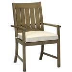 Croquet Aluminum Arm Chair
