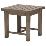 Croquet End Table