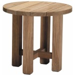 Croquet Teak End Table