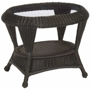 Classic Wicher End Table