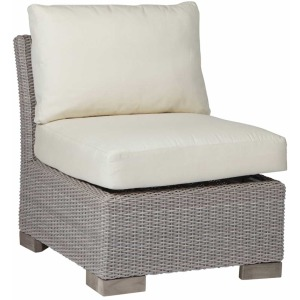Club Woven Slipper Chair - Oyster