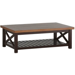 Cahaba Coffee Table - Mahogany Natural