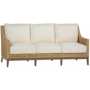 Peninsula Sofa - Raffia/Sandalwood
