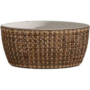 Largo Coffee Table - Raffia Basket Weave
