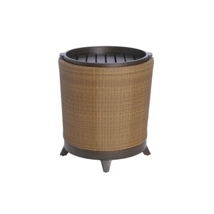 Detron End Table with Removable Tray