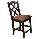 1848DC Double Crossback Stool