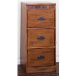 Sedona 3 Drawers File Cabinet
