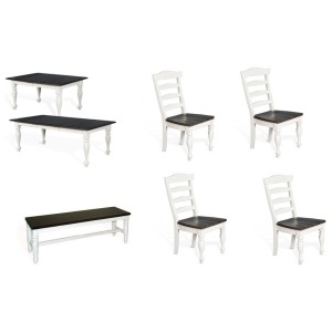Carriage House 6 PC Dining Set