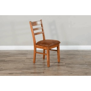 Sedona Ladderback Chair w/ Cushion Seat