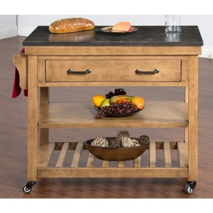 Blue Moon Kitchen Island