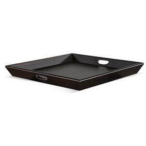 Black Walnut Ottoman Tray