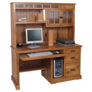 Sedona Computer Desk Hutch