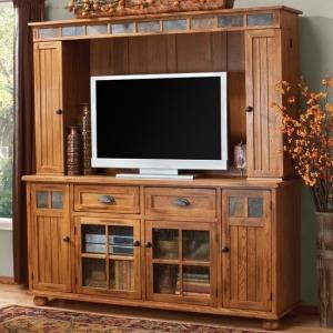 Sedona Media Hutch and TV Console