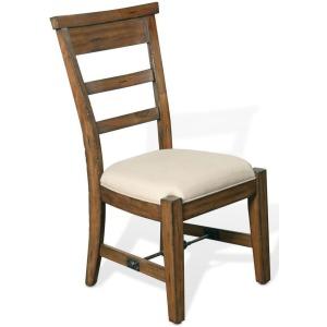 Tuscany Ladderback Side Chair w/ Cushion Seat