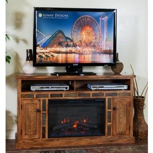 Sedona Fire Place TV Console