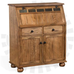 Sedona Drop Leaf Laptop Desk Armoire