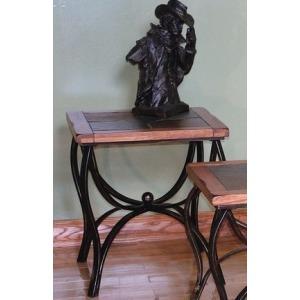 Sedona Metal End Table