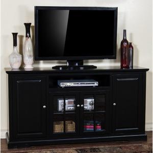 """Black 64""""W TV Console"""