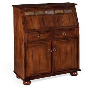 Santa Fe Drop Leaf Laptop Desk Armoire