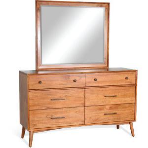 American Modern 6 Drawer Dresser