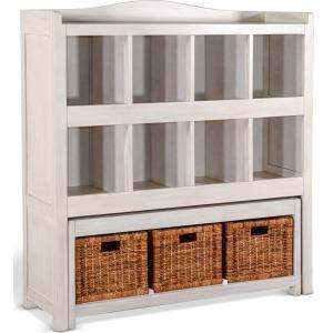 Storage Bookcase w/ Trundle Bench