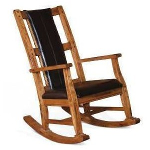 Sedona Rocker w/Cushion Seat & Back