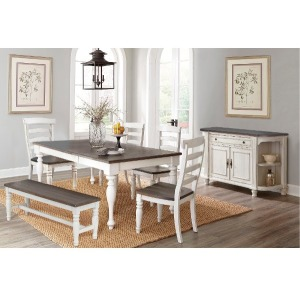 Bourbon County 6 pc Dining Set