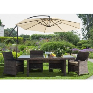 Cantilever Dining Set