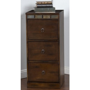 Santa Fe 3 Drawers File Cabinet