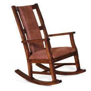 Santa Fe Rocker w/Cushion Seat & Back