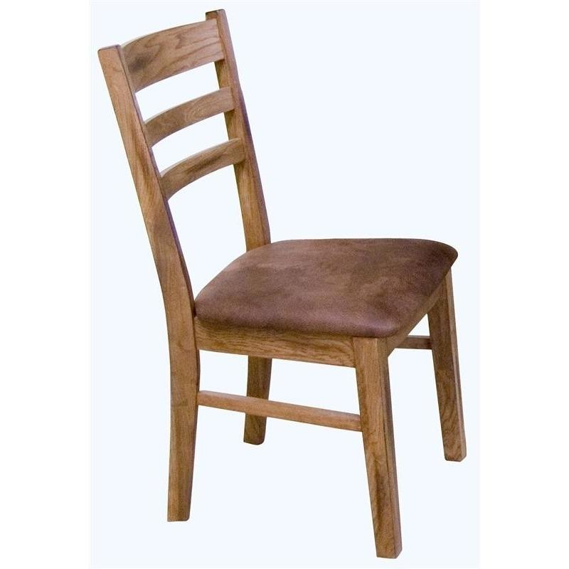 1616RO-CT Ladderback Cushion Chair