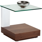 EVERETT END TABLE - BROWN