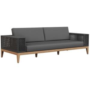 Salerno Sofa - Charcoal - Gracebay Grey