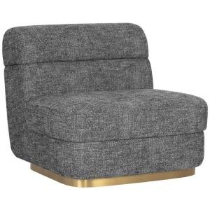 Florin Swivel Lounge Chair - Kais Zebra