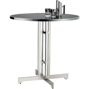 ALBA BAR TABLE - STAINLESS STEEL