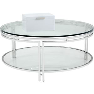ANDROS COFFEE TABLE - STAINLESS STEEL