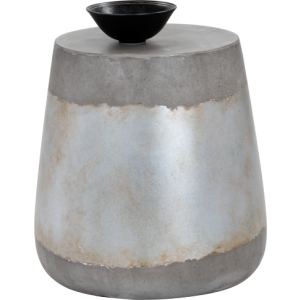 ARIES SIDE TABLE - SILVER