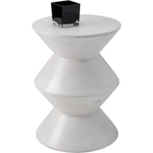 UNION END TABLE - WHITE