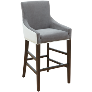VINCENT COUNTER STOOL - IVORY