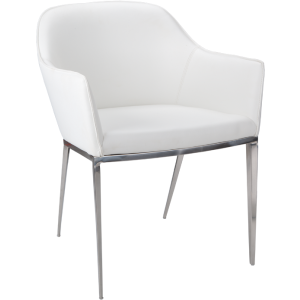 STANIS ARMCHAIR - WHITE