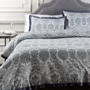 Griffin Full/Queen Duvet Set - Gray
