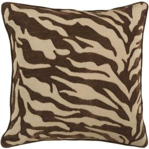 """Velvet Zebra (18"""" x 18"""")"""