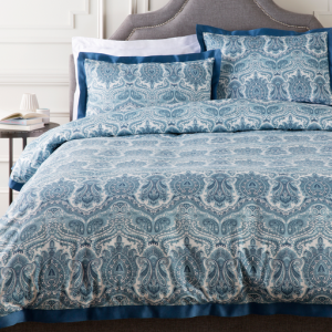 Griffin Full / Queen Duvet Set - Blue