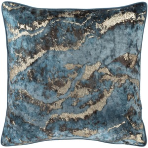 "Agate Pillow Shell with Down Insert - 20"" x 20"""