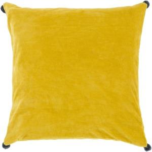 Velvet Poms Pillow Kit