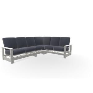 Leeward MGP 4PC Cushion Sectional