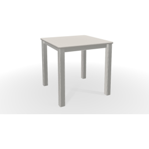 MGP Slatted Top End Table - Snow