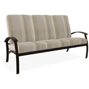 Belle Isle Cushion Three Seat Sofa - Kona w/Whisper Wren