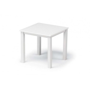 Marine Grade Polymer Top Table, 21″ Square End Table